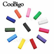 "1"" (26.5mm) Colorful Webbing Belt Loop Keeper For Dog Collar Harness Straps"