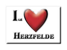 DEUTSCHLAND SOUVENIR - BRANDENBURG MAGNET HERZFELDE (MÄRKISCH ODERLAND)