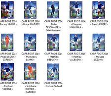 CARTE COLLECTION CARREFOUR COUPE DU MONDE FOOTBALL 2014 EQUIPE DE FRANCE (Neuf)