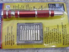 9 En 1 destornillador de precisión y los bits Clip De Bolsillo Phillips Recto Torx 54156