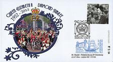 "JUB12-6 FDC ROYAUME-UNI ""Jubilé Diamant Sa Majesté la Reine ELISABETH II"" 2012"
