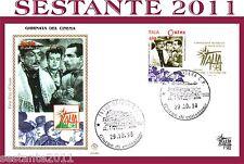 ITALIA FDC FILAGRANO GIORNATA CINEMA 1998 EDOARDO PEPPINO TITINA DE FILIPPO E138