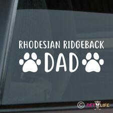 Rhodesian Ridgeback Dad Sticker Die Cut Vinyl - african lion hound dog