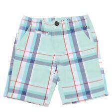 6954S bermuda bimbo TOMMY HILFIGER verde acqua pantalone corto short kid