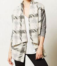 Dolan Drapey Nuage Cardigan Sweater Size Medium Grey Motif NW ANTHROPOLOGIE Tag