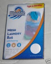 Woolite Mesh Laundry Bag Drawstring Wash Travel Storage 24x36