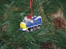 Chuggington Custom Diecast Christmas Ornaments w/Hat-snow (Multiple in Listing)