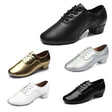 New Men's Latin Ballroom Party Tango Modern Salsa Dance Shoes Black 701-702