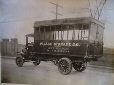 ORIG 1914 Service Truck Photo Palace Storage Co