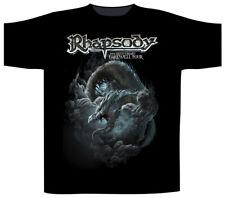 Rhapsody Blue Dragon Shirt S M L XL XXL Power Metal Tshirt Official T-Shirt