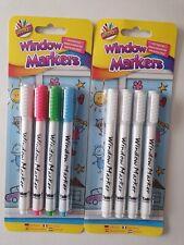 18 plumas de fibra de color EasyNote Lavable Fieltro Consejos Marcadores Colorantes En Caja Set