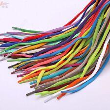 1Pair Oval Athletic Shoelaces Sport Sneaker Boots Shoe Laces Strings Multicolor.