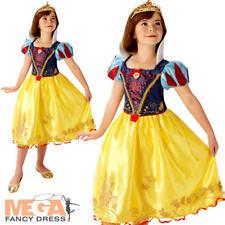 Snow White Girls Fancy Dress Disney Princess Book Day Week Kids Childs Costume