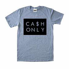 Cash Only T-shirt To Match Retro Jordan 12 Wolf Grey Low 9 Barons 10 Steel 6 4 3