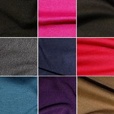 Ponte Roma Fabric  Jersey Stretch Viscose Spandex Soft Knit  150cm Wide