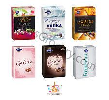 Fazer Chocolate Liqueur Fills Vodka Mixers Geisha Mint Selection 150g 5.3oz