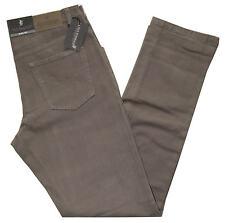Pantalone uomo cotone caldo modello jeans tela strech taglia da 46 a 62 fango