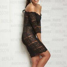 BY ALINA Damenkleid Damen Kleid Minikleid Partykleid Abendkleid Business #A423