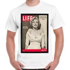 Marilyn Monroe la revista Life 50s Retro T Shirt 105