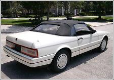 NEW Cadillac allante Convertible Soft Top OEM HAARTZ SONNENDECK CLOTH 1987-1993