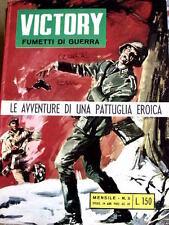 Victory Fumetti di Guerra 5 1968 ed. Alhambra