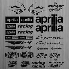 aprilia RSV4 aufkleber sticker decal motorrad motorcycle racing tuning 26 Pieces