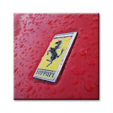 "Cc Arte-Canvas Print-Ferrari Insignia estudio - 24 ""X 24"""