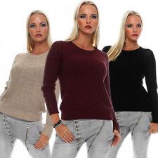 Urban Surface Mujer Parte Superior Suéter Sudadera Con Capucha Camisa De Punto