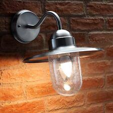 Auraglow Nautical Outdoor Wall Lantern Traditional Garden Light Bulb Included