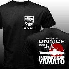 New Space Battleship Yamato Star Blazers UNCF Navy Japan Manga Anime T-shirt