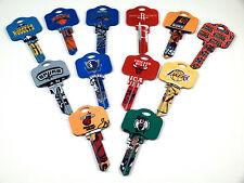 NBA Kwikset Blank House Keys KW1 - NBA Licensed - Assorted Teams