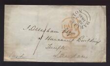 GB QV 1840 COVER...DARLINGTON NAT.PROVINCIAL BANK SEAL