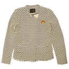Maison Scotch Short Jacket with Fringe, Colour A