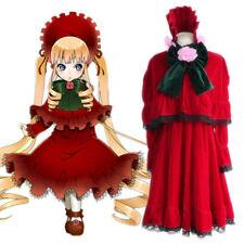 Peach-Pit Rozen Maiden Reiner Rubin Shinku Cosplay Costume Lolita Dress +Track