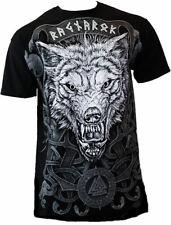 Gothic Metal Wikinger Vikings Ragnarok Ragnarök Wolf Fenrir T - Shirt M L XL XXL