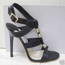 NIB Jimmy Choo SERENA Gladiator Sandals Shoes 37.5