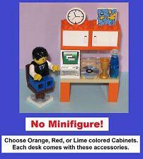 Choose Color Custom Computer Desk Table Set Mini Miniature Doll House Cake