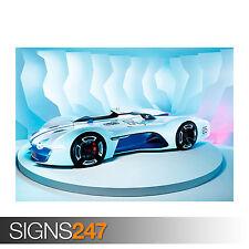2015 RENAULT ALPINE VISION GRAN TURISMO (0069) Car Poster - Poster Print
