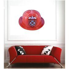 Affiche poster ville New York casque pompier 62134816