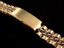 Vintage Ladies Speidel Jubilee watch band bracelet 13mm Curved Ends