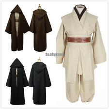 Star Wars Obi-Wan Kenobi Jedi Knight Full Set Adults Costume Cloak Suits Cosplay