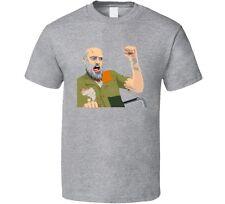 Happy Wheels T Shirt Unisex Funny T-Shirt Grandpa Novelty Game App Shirt New