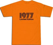 1977 Limited Edition Cool T-Shirt S-XXL # Arancione