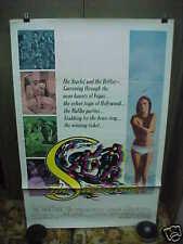 THE SWEET RIDE, orig 1-sh / movie poster [Jacqueline Bisset] - SURFING