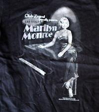 Marilyn Monroe Las Vegas Black Juniors Ladies T-Shirt