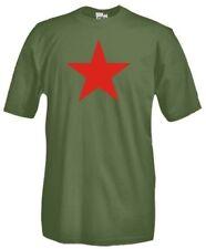 T-Shirt maglietta Politic E15 Stella Rossa a cinque punte comunismo socialismo