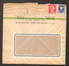 "CHERBOURG (50) LIBRAIRIE PAPETERIE ""GAMBETTA"" en 1957"