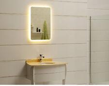 Lichtspiegel Wandspiegel Badspiegel GS045N mit LED-Beleuchtung IP44 warmweiß
