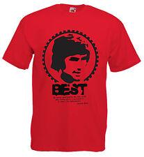 T-shirt Maglietta J1122 Best George Mito Irish Old Football Hereos
