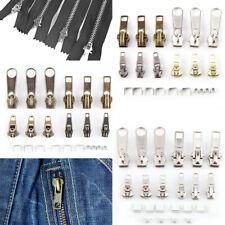 12pcs Cursor para cremallera Metal Reemplazo de Cremallera 3,5cm/2,7cm/2cm/1,8cm